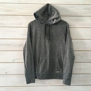 Avia Heather Gray Hooded Sweatshirt